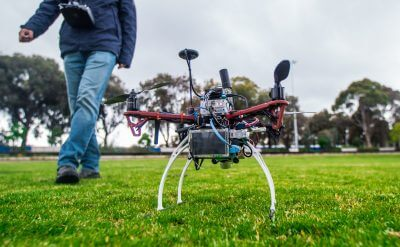 Aerial views the incorporation of the drone into video production has increased the number aerial shots for Posterboy Media