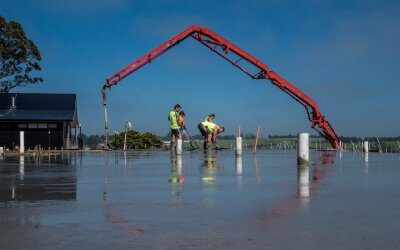 A construction business in action captured uniqely by Posterboy Media's professional photography services