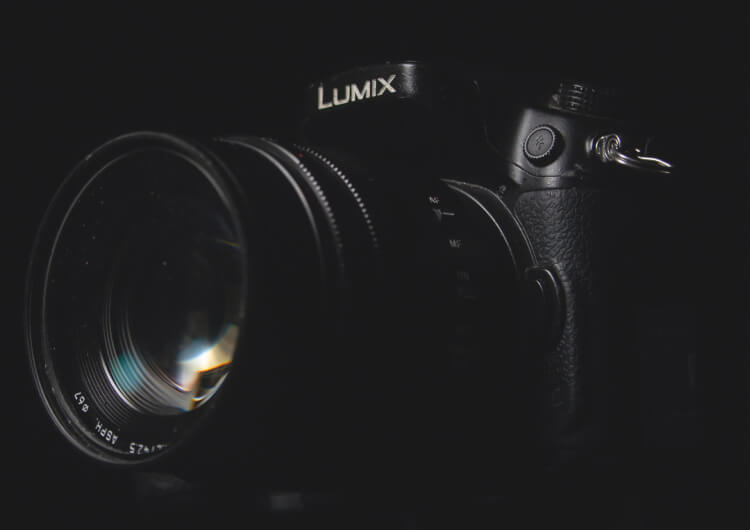Lumix camera capturing your unique story through Posterboy Media's uncomplicated photography services.