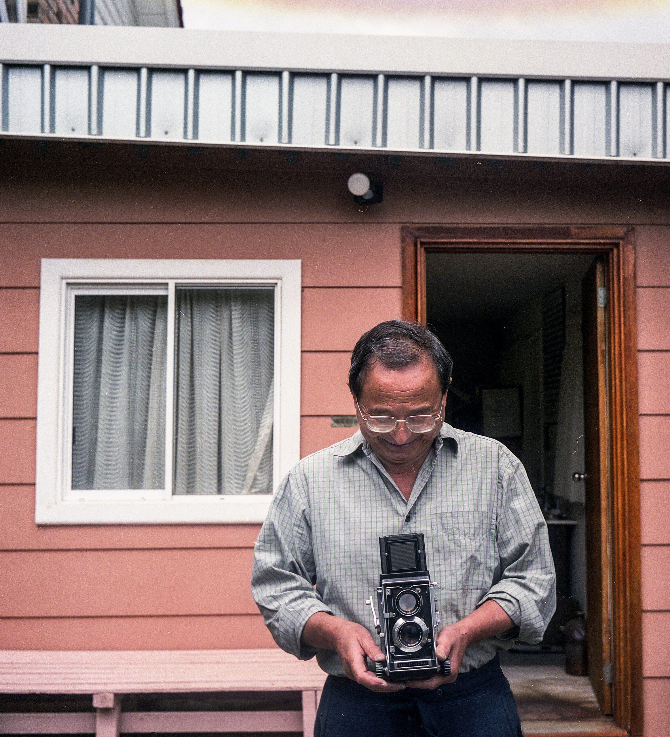 Hiroyoshi Nagami as the inspiration for Melbourne Short Film Festival Yoshi Fixes Cameras